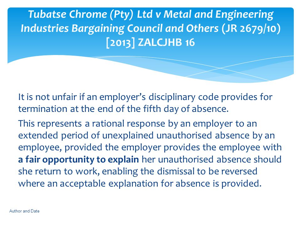 Tubatse Chrome (Pty) Ltd v Metal and Engineering Industries Bargaining Council and Others (JR 2679/10) [2013] ZALCJHB 16